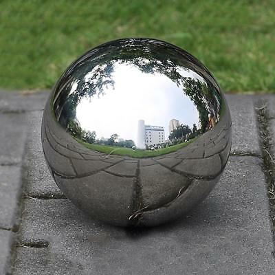 19-300 mm Mirror Sphere Hollow Ball Stainless Steel Office In/Outdoor Ornament