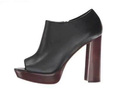 3b8c40ab96a Vince Camuto Kyrie Open Toe Leather Platform Pumps (Black) Sizes 5 to 11  Medium