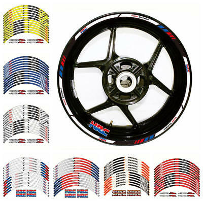 Motorcycle High Quality Wheel Rim Decals Stickers For Honda CBR600RR 900RR 954RR