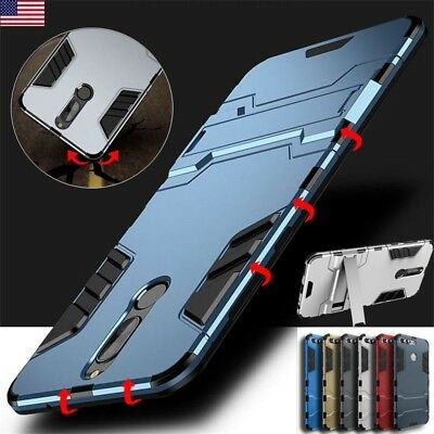 Shockproof Hybrid Armor Kickstand Case Cover For Huawei Mate 10 Lite Pro P9 P10