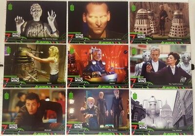 DOCTOR WHO  2016 EXTRATERRESTRIAL ENCOUNTERS  Trading Card Set of 100 topps