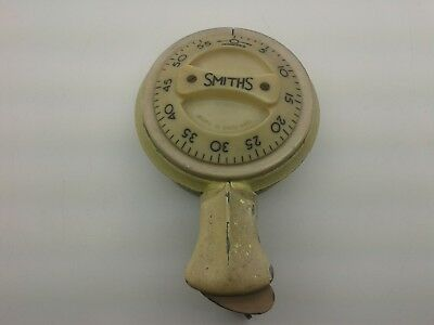 EXTREMELY RARE SOLIDLY BUILT 1930's BAKELITE LONG RING VINTAGE SMITHS TIMER