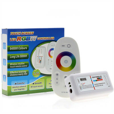 RGBW / RGB LED Controler RF Touch Screen 2.4G DC12-24V 18A 24A Remote Controller