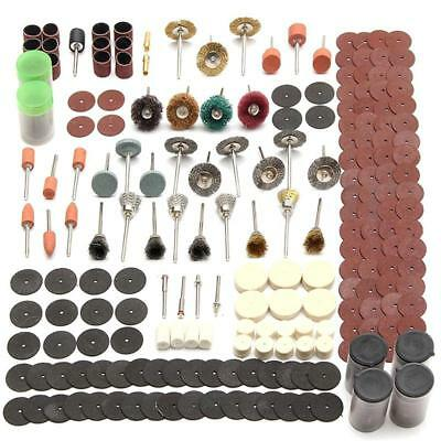 340PCS Electric Grind Mini Rotary Power Drill Accessory Tool Set + Sanding Discs