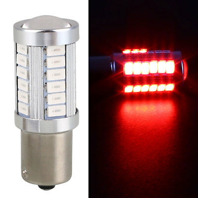Bright Turn Signal Light Reverse Lamp Car Rear BA15S 1156 33 SMD Durable