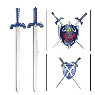 Legend Of Zelda Hylian Shield & Link Swords Wall Display Set SI3701BL/BP2