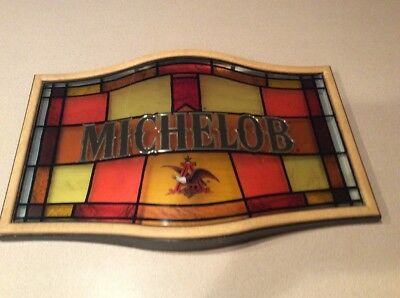 Beautiful Vintage Michelob Bar Sign 24 x 16  GREAT CONDITION