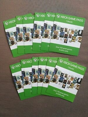 12 Monate / months Xbox Game Pass