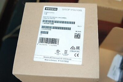 Siemens 6EP1334-1LB00, 24V Power Supply, 120-230V, 4.1-2A,  New in Box