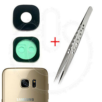 SAMSUNG Galaxy S7 G930 S7 Edge G935 G935F Rear Back Camera Real Glass Lens