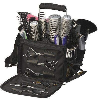 SIBEL Hairdresser MULTI STORAGE BASKETFULL Bag Eqipment Case Beauty Barber