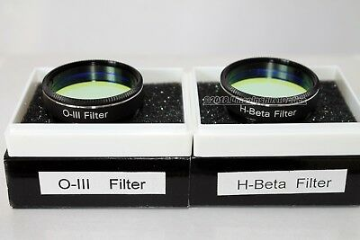 "Ostara 1.25"" O-III and H-Beta filter (H beta) twin pack for larger telescopes"