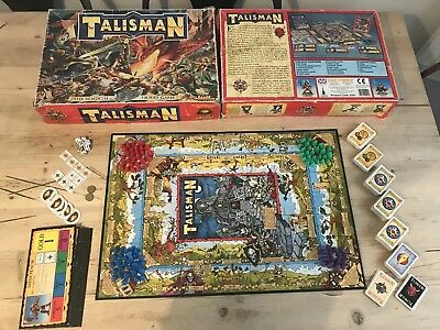 Talisman Games Workshop The Magical Quest Game