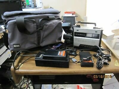 Panasonic PV-200D OmniMovie VHS Camcorder With Bag/Charger/Battery