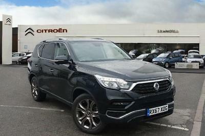 2017 Ssangyong Rexton II 2.2TD (181ps) 4X4 Ultimate Bla