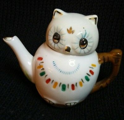 Fen Shui wise owl tea pot