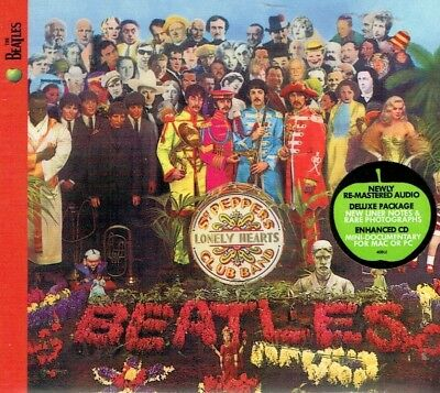 The Beatles - Sgt. Pepper's Lonely Hearts Club Band  Re-Mastered Deluxe Package
