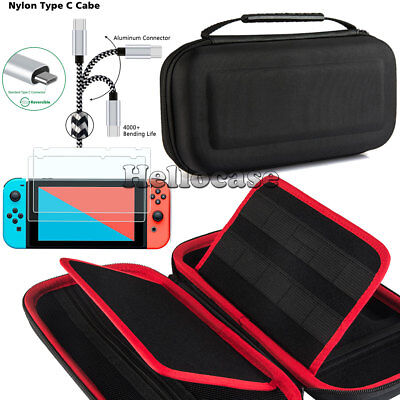 For Nintendo Switch Carrying Case Cover Hard Shell Portable Pouch Travel Bag
