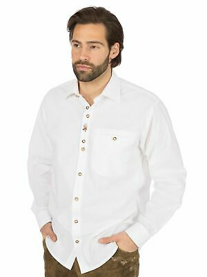 Os-Trachten Traditional Shirt 120033-1184 White