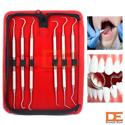 Dental Hygienist Examination Kit Calculus Remover Dentistry Oral Care Pick Tools