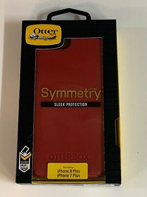 OtterBox Symmetry Series Case For iPhone 7 Plus & iPhone 8 Plus Rosso Corsa Red