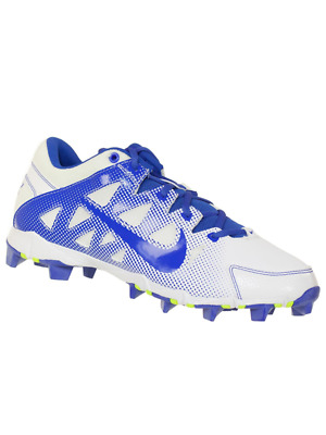 63725b365 Nike Women s Hyperdiamond Keystone Low Molded Softball Cleats White Royal  6.5 M