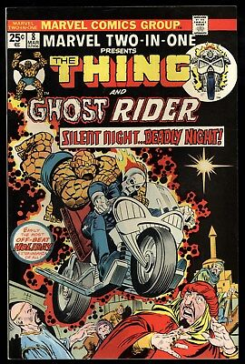 Marvel Two In One (1974) #8 1st Print Early Ghost Rider App Gerber Buscema VF/NM