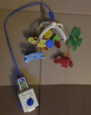 VINTAGE Fisher Price Dancing Animals Musical Mobile