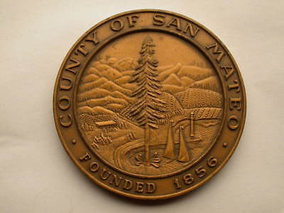County Fair And Floral San Mateo CA Medal 75mm