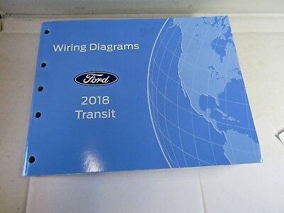 ad-760 2018 ford transit service manual electrical wiring diagram workshop  new