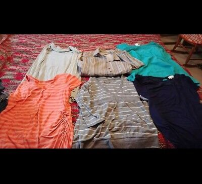 14 piece size Small Maternity Clothing Clothes lot Skirts Dresses Shorts