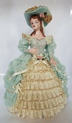 Vintage Heirlooms of Tomorrow Emily Doll Figurine in Lace Dress