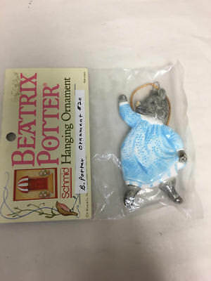 Schmid Beatrix Potter Hanging Ornament Pig Wig