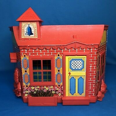 """Vintage Remco Mouse Heidi Penny Brite Betsy McCall 8"""" Doll House RARE SCHOOL"""