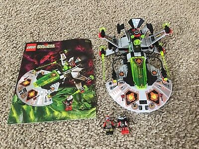 Lego 6915 space ufo warp wing fighter with minifigures   ebay.