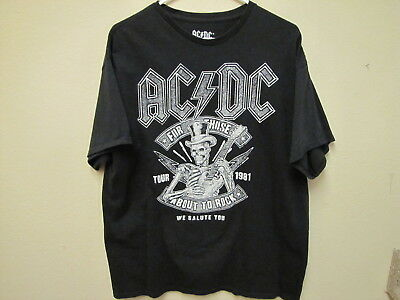 "AC/DC, ""For Those About to Rock"" T-Shirt. Size M."