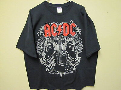 "AC/DC, ""Black Ice"" T-Shirt. Size 2XL."