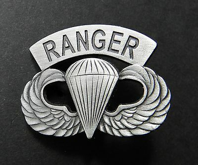 Us Army Ranger Special Forces Wings Large Lapel Pin Badge 1.5 Inches