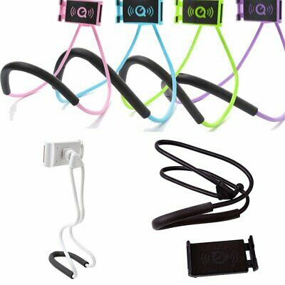 Lazy Hanging Neck Phone Stand Mount Holder Necklace Cell Phone Support Bracket