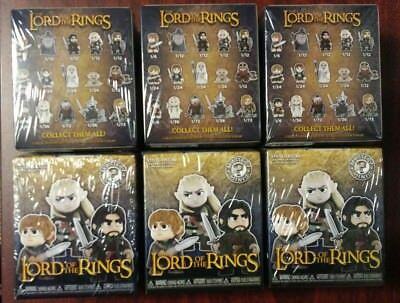 Funko Mystery Minis Lord of the Rings Hot Topic Exclusive 1/2 Case - 6 Sealed