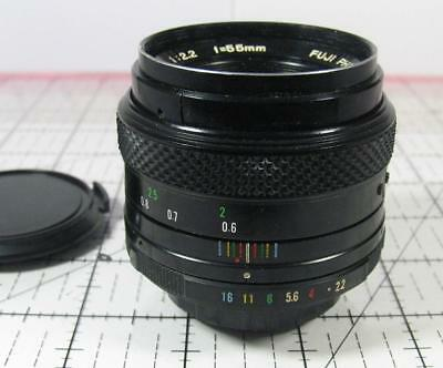 Fuji Fujinon 55mm f2.2 Prime Normal Lens with an M42 Universal Screw Mount Japan
