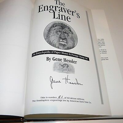 The Engraver's Line, Hessler, #51 of 66 deluxe editions, author & artist signed