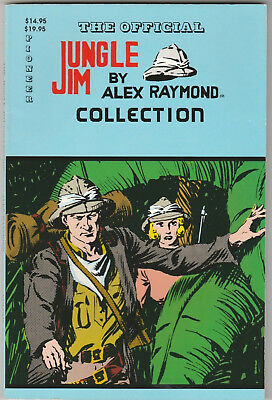 Official Jungle Jim Collection TPB #1 VF+ 1989 Pioneer King Comics Alex Raymond