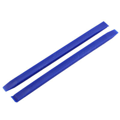 Phone LCD Screen Plastic Electronic Stick Spudger Opening Repair Tool Blue 2 Pcs
