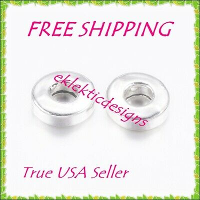20pcs 4mm Silver Plated Flat Back Stud Posts Earrings Jewelry Findings 10prs