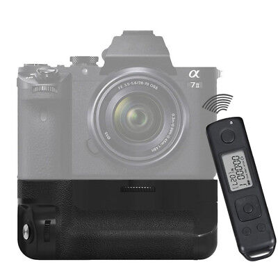 UK-MCO Built-in 2.4g Wireless Control Battery Grip for Sony A7 II as VG-C2EM