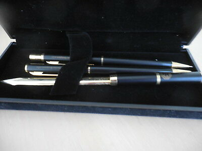 Vintage Pencil Biro And Letter Opener Set Boxed Ferrier Henderson & Co.