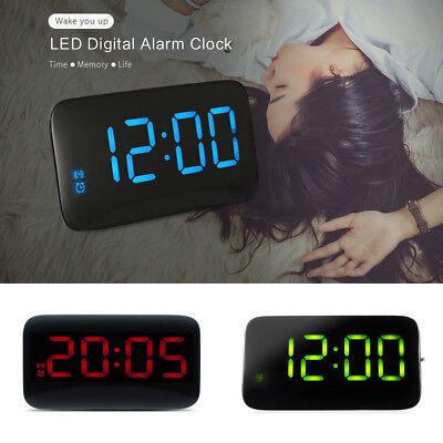 JUNJIADA JK-015 LED Digital Alarm Clock Backlight Voice Control Snooze function