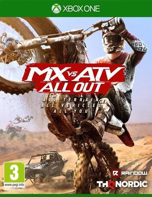 MX VS ATV All Out Xbox One Game Brand New Sealed