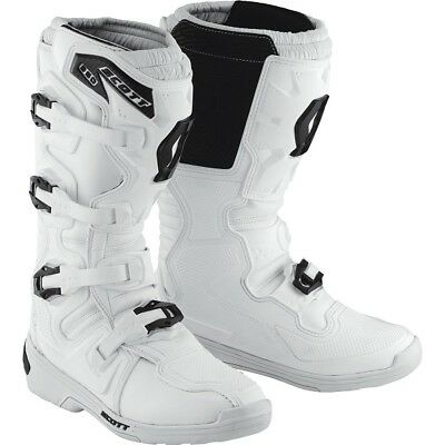 Scott MX Stiefel 350 Weiß MX Enduro Offroad Touring Supermoto SX Race Moto Cross